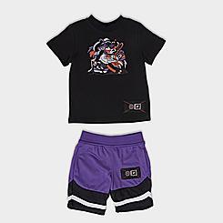 Boys' Toddler Fila Sneakerhead T-Shirt and Shorts Set
