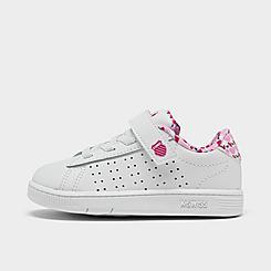 Girls' Toddler K-Swiss Court Casper Casual Shoes