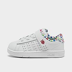 Kids' Toddler K-Swiss Court Casper Casual Shoes