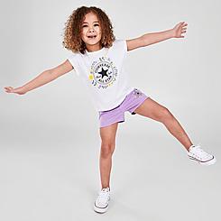 Girls' Toddler Converse Flower Crown Chuck Taylor Logo T-Shirt and Shorts Set