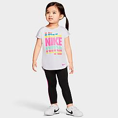 Girls' Toddler Nike Dri-FIT Tunic and Leggings Set