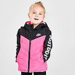 Girls' Toddler Nike 2Fer Puffer Jacket