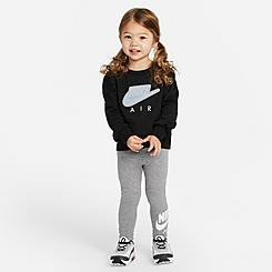 Girls' Toddler Nike Air Crewneck Sweatshirt and Leggings Set