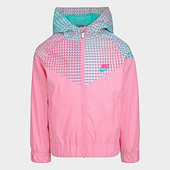 Girls' Toddler Nike Pixel Windrunner Jacket