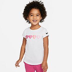 Girls' Toddler Nike Hearts T-Shirt