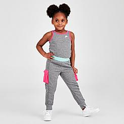 Girls' Toddler Nike Sportswear Tank Jumpsuit