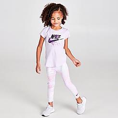 Girls' Toddler Nike Dri-FIT Tie-Dye Leggings