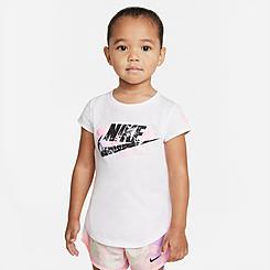 Girls' Toddler Nike Jersey Futura T-Shirt
