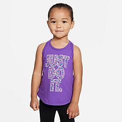 Girls' Toddler Nike Swoosh Sprinkle Jersey Tank