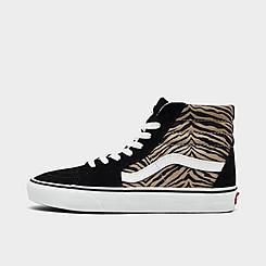 Women's Vans Sk8-Hi Animal Casual Shoes