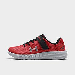 Boys' Little Kids' Under Armour UA Pursuit 2 AC Hook-and-Loop Running Shoes