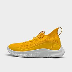 Big Kids' Under Armour Curry Flow 8 Basketball Shoes