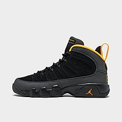 Big Kids' Air Jordan Retro 9 Basketball Shoes