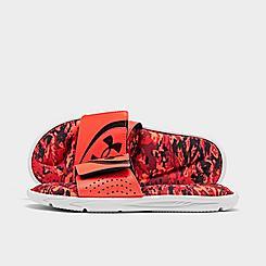 Big Kids' Under Armour UA Ignite V1 Strk PW Slide Sandals