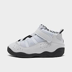Kids' Toddler Air Jordan 6 Rings Basketball Shoes