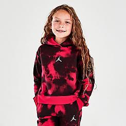 Girls' Little Kids' Jordan Essentials Print Pullover Hoodie