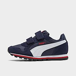 Boys' Little Kids' Puma ST Runner Hook-and-Loop Casual Shoes
