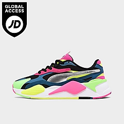 Women's Puma RS-X³ Puzzle Metallic Casual Shoes