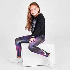 Girls' Little Kids' Nike Allover Print Light Up The Sky Leggings