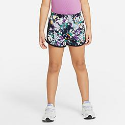 Girls' Little Kids' Nike Dri-FIT Tempo Floral Training Shorts