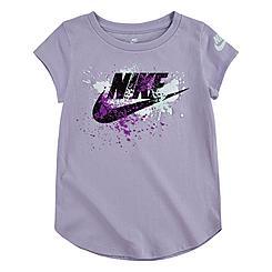 Girls' Little Kids' Nike Futura Paint Splatter T-Shirt
