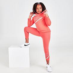Girls' Little Kids' Nike Hoodie and Leggings Set