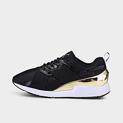 Women's Puma Muse X-2 Metallic Casual Shoes