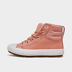 Girls' Little Kids' Converse Chuck Taylor All Star Berkshire Leather High Top Casual Boots