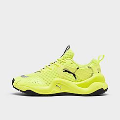 Women's Puma Rise Neon Casual Shoes