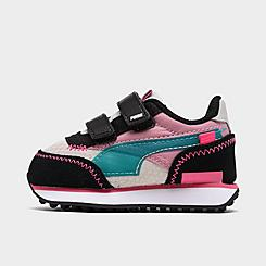 Girls' Toddler Puma Future Rider Play On Hook-and-Loop Casual Shoes