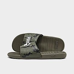 Men's Puma Cool Cat Camo Slide Sandals