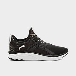 Women's Puma SoftRide Sophia Leopard Casual Shoes
