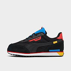 Boys' Little Kids' Puma Future Rider Neon Play Casual Shoes