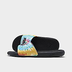 Women's Puma Cool Cat Tie-Dye Slide Sandals
