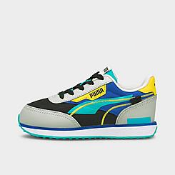Girls' Little Kids' Puma Future Rider Twofold Casual Shoes