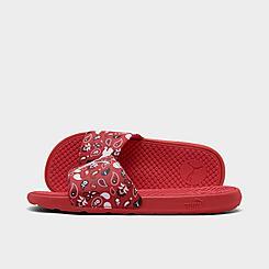 Women's Puma Cool Cat Bandana Slide Sandals