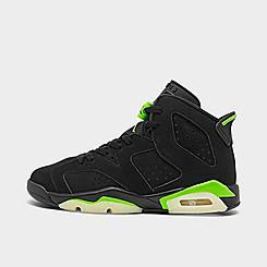 Big Kids' Air Jordan Retro 6 Basketball Shoes