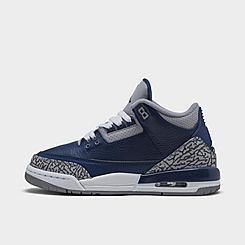 Big Kids' Air Jordan Retro 3 Basketball Shoes
