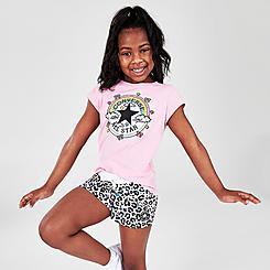 Girls' Little Kids' Converse Gamer Girl T-Shirt