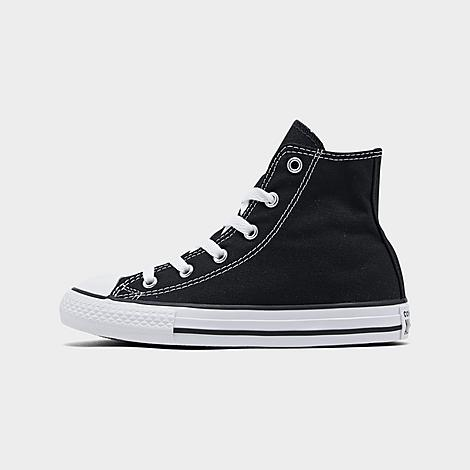 Little Kids' Chuck Taylor Hi Top Casual Shoes in Black Size 1.0 Canvas by Converse