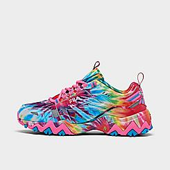 Girls' Big Kids' Fila Oakmont TR Tie-Dye Casual Shoes