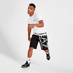 Men's EA7 Emporio Armani 3D Logo Shorts