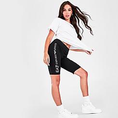 Women's EA7 Emporio Armani Bike Shorts