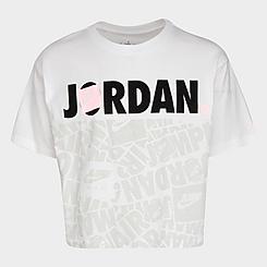 Girls' Jordan Air Logo-Blocked T-Shirt