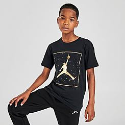 Kids' Jordan AJ13 Speckle Graphic T-Shirt
