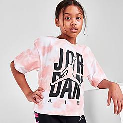 Girls' Jordan Tie-Dye Air T-Shirt