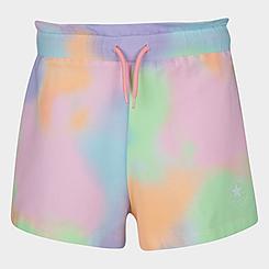 Girls' Converse Chuck Patch Cloud Wash Paperbag Shorts