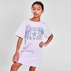Girls' Converse French Terry T-Shirt Dress