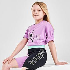 Girls' Jordan J's Are For Girls Colorblock Bike Shorts