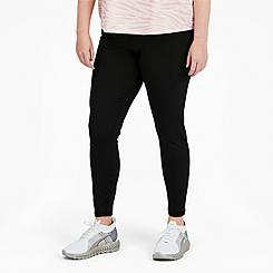 Women's Puma Forever Cropped Training Leggings (Plus Size)